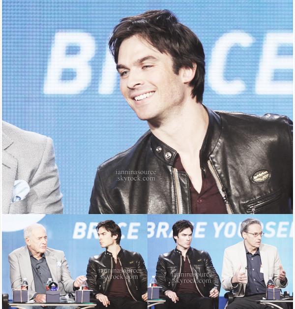 . Le 16 janvier 2014, Ian était à Pasadena (Californie) pour le TCA Winter Tour. .