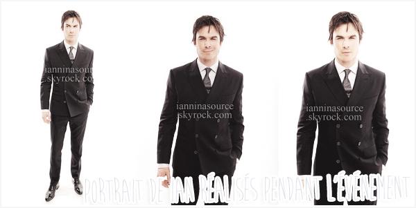 . Le 16 janvier 2014, Ian s'est rendu aux Critics Choice Movie Awards.. .