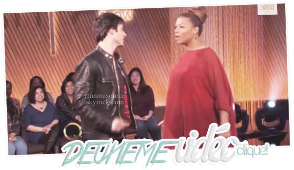 . Le 20 janvier 2014, Ian s'est rendu sur le plateau de The Queen Latifah Show ! .