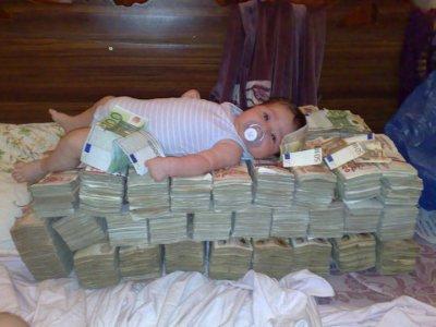 avec l'argent!!