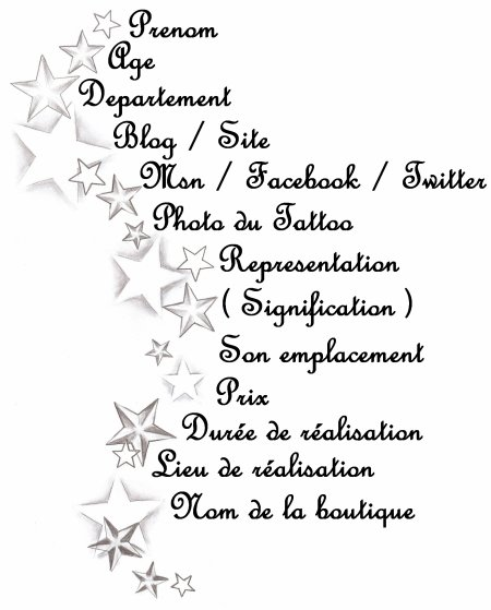 Presentation - Inscription