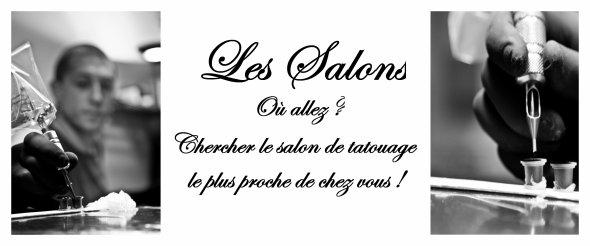 Les salons - Par departement - Localisation - Inscription