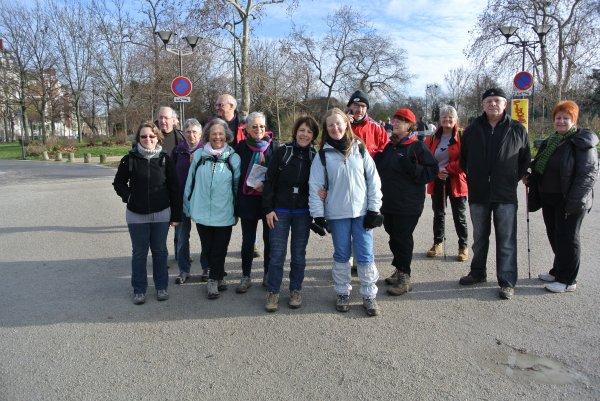 La Marche de l'An Neuf, souvenir André Asteix (5/01/2014)