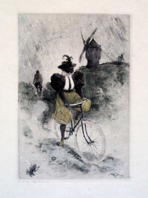 Jeu : La Belle Cycliste et le Mauvais Chemin