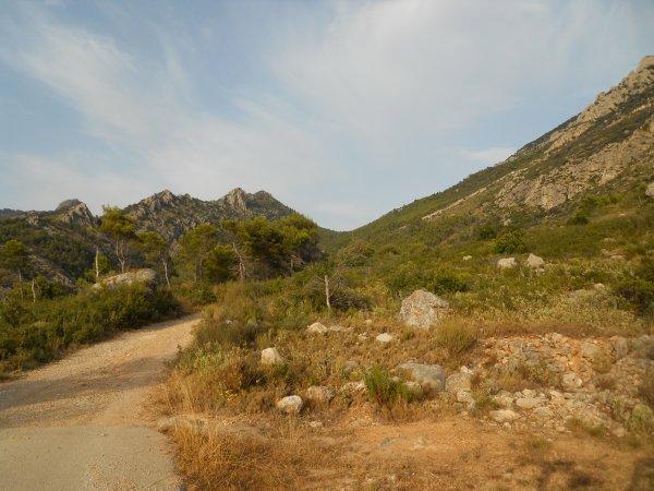 Balade entre Puig Campana et Sierra del Castellet