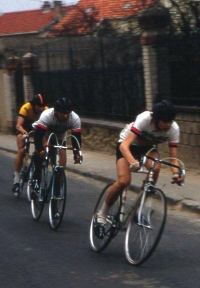Première course à Montgeron : mars 1973