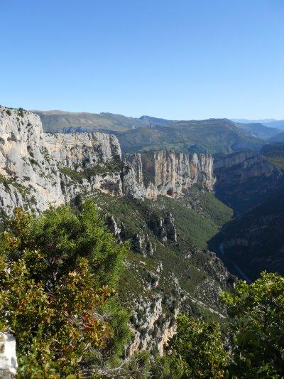 Gorges du Verdon : la Route des Crêtes (9/08/2011)