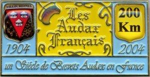 1904-2014 : 110 ans d'Audax