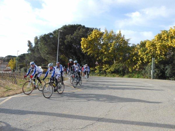 Stage vélo à Sainte-Maxime (22 au 28/02/2014)