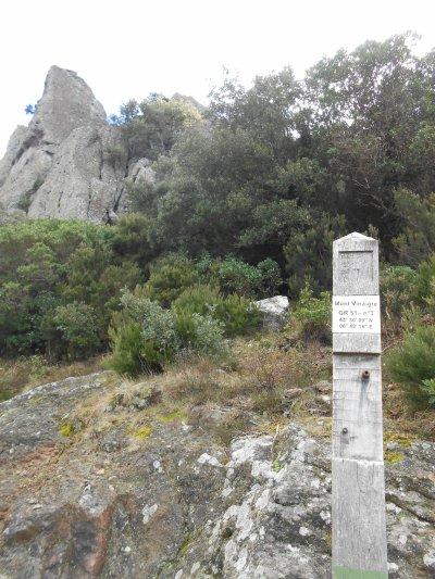 De Sainte-Maxime au Mont Vinaigre (27/02/2014)