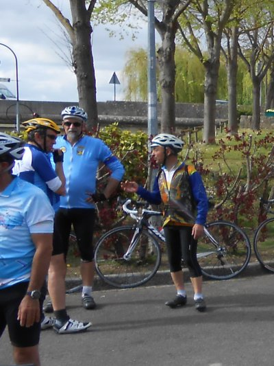 "Audax 200 km ""Paris - Gaillon - Paris"" (5/04/2014)"