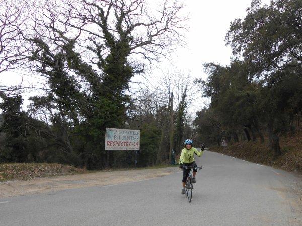 Côte du Revest et Col de Vignon (28/02/2014)