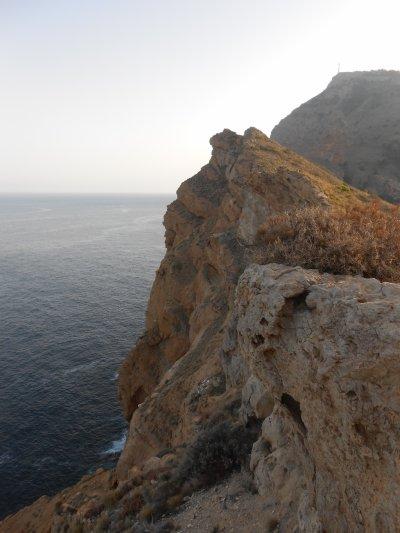 Serra Gelada, site pour randonnée pédestre, Espagne