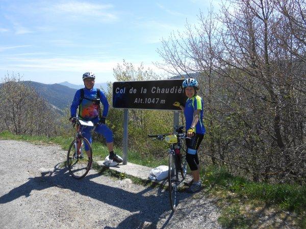 100 cols en Drôme : Autour du Col de la Chaudière (17/04/2014)