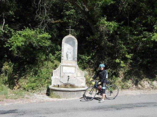 100 cols en Drôme : Entre Aleyrac et Saint-Restitut (19/04/2014)