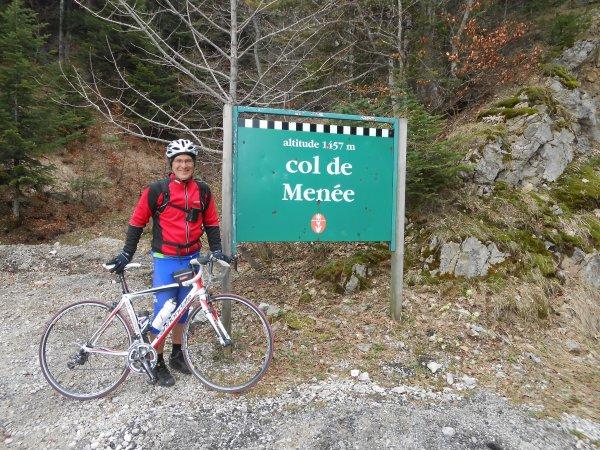 100 cols en Drôme : Cols de Grimone et de Menée (20/04/2014)
