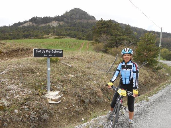 100 cols en Drôme : Autour de Gumiane (21/04/2014)