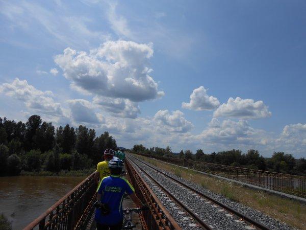 Rencontre avec des Cyclotouristes Saint-Mauriens au Pays Saint-Pourcinois… (3 au 8/08/2014)