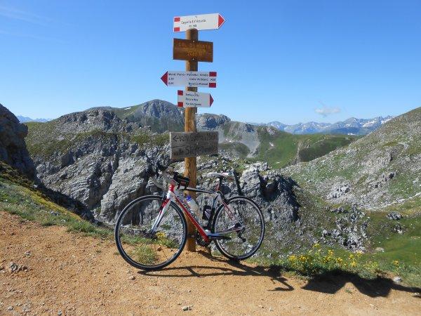 Aventures à vélo autour de la Cima Fauniera (Italie)
