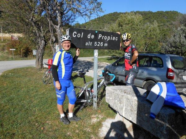 100 cols en Drôme : randonnée terminée! (25/10/2014)