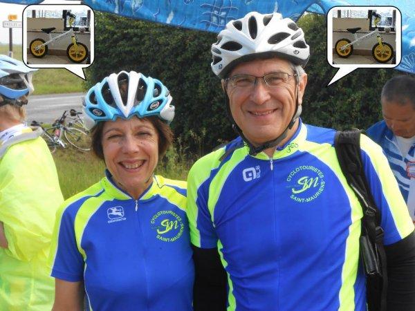Claude et Marie-Ange font du vélo… (PUB!)