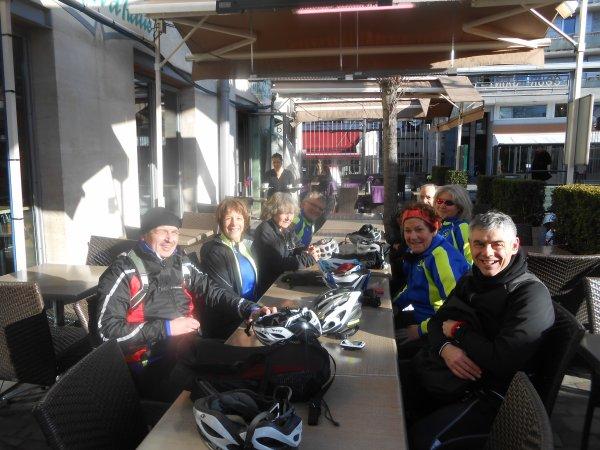"Sortie club ou ""Cyclo-flâneur"" (31/01/2015)"