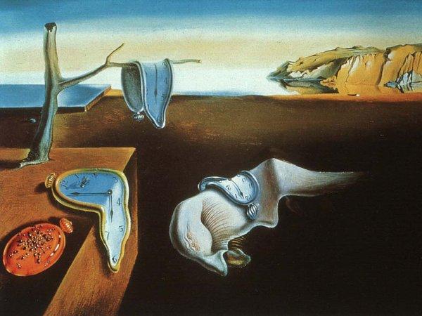 Salvador Dali et le vélo