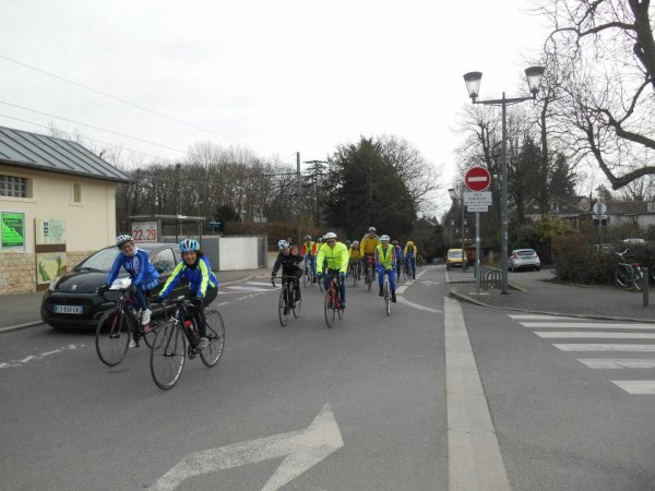 Brevet Bi-Audax 100 km vélo et (ou) 25 km de marche (7/03/2015)