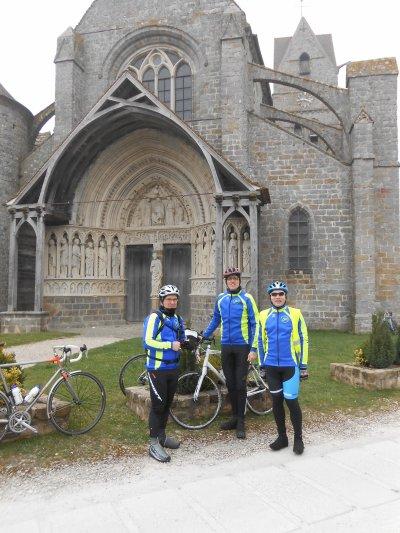 Brevet Audax 150 km, à Bois-le-Roi (21/03/2015)