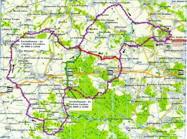 Rallye de la Mauldre, à Beynes, Yvelines (5/04/2015)