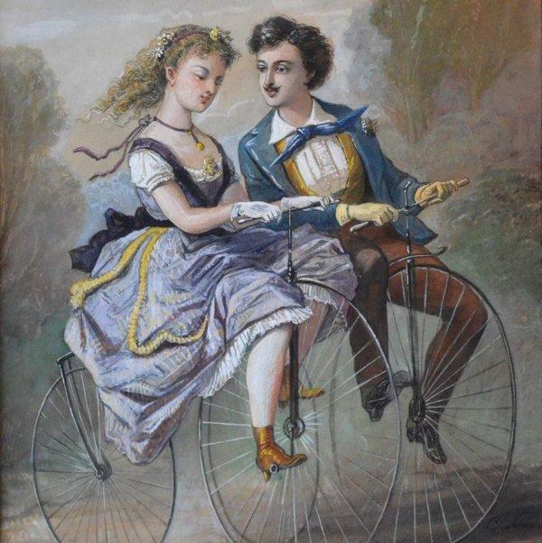 Les vélos de Charles Vernier