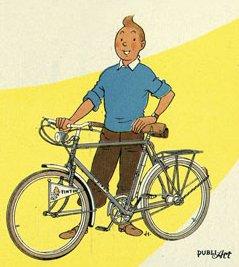Les vélos d'Hergé, dans les albums de Tintin et ailleurs (27/05/2015)