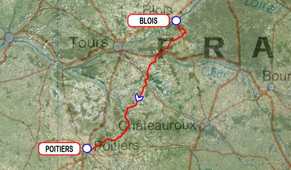 Paris-Bayonne 2015 - 2e étape : Blois - Poitiers (4/06/2015)