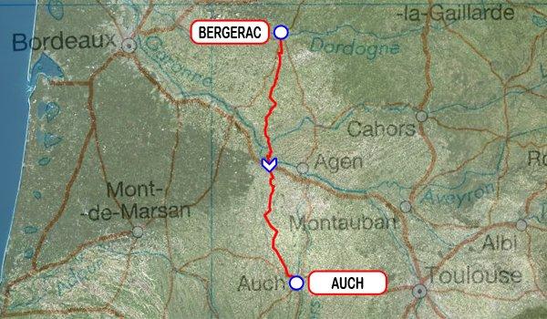 Paris-Bayonne 2015 - 5e étape : Bergerac - Auch (7/06/2015)