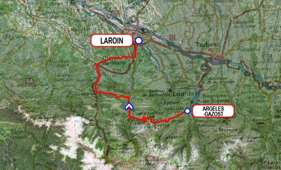 Paris-Bayonne 2015 - 9e étape : Argelès-Gazost - Laroin (11/06/2015)