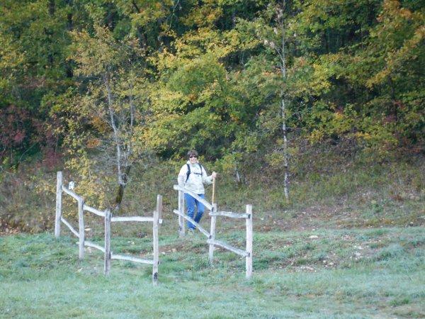 Randonnées aux saveurs de l'automne à St-Amand-de-Coly (30/10/2016)
