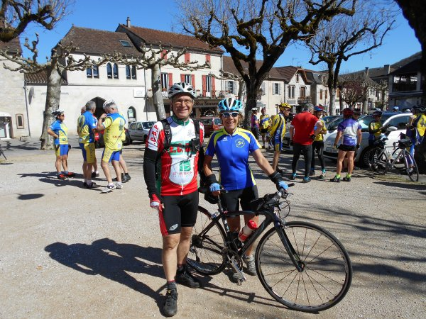 Initiation Audax 100 km, à Cahors, Lot (26/03/2017)