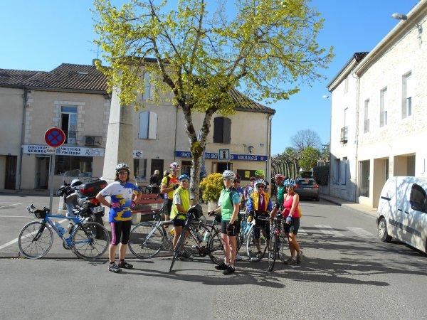 Brevet Fédéral 100 km à Bergerac (9/04/2017)