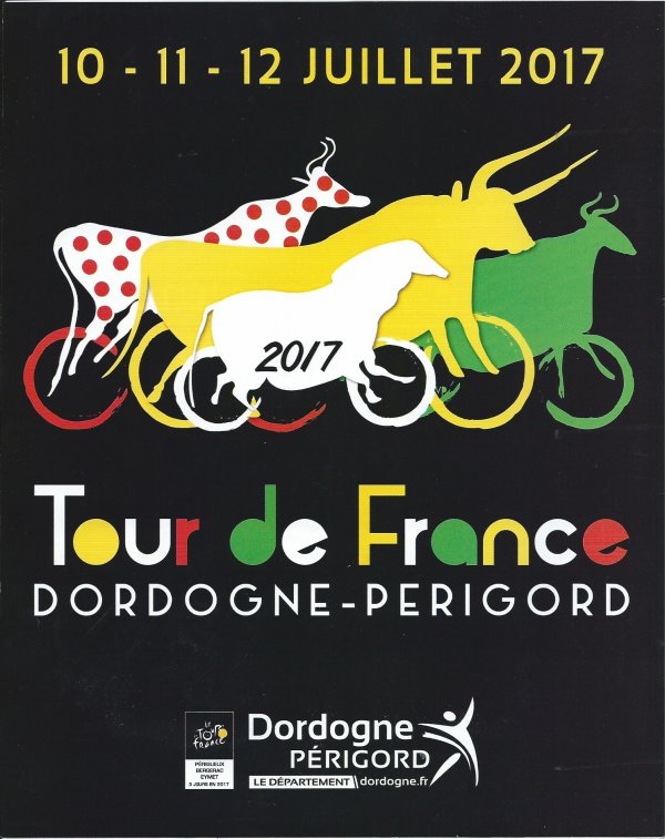 Périgueux - Bergerac : L'étape du Tour de France 2017 en Dordogne - Périgord (28/07/2017)