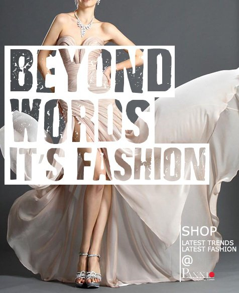 Beyond words, it's fashion