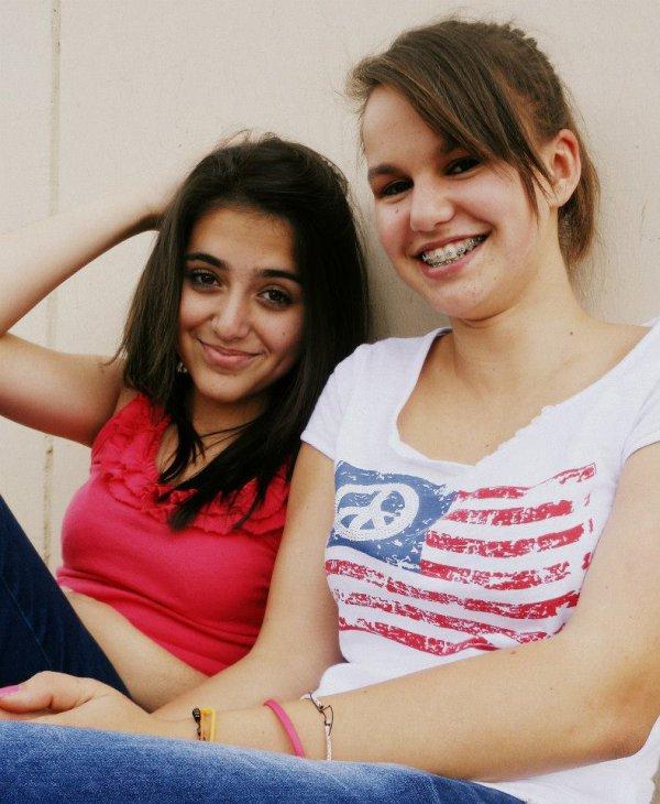 Ma meilleure amie,mon coeur,mon tout.♥