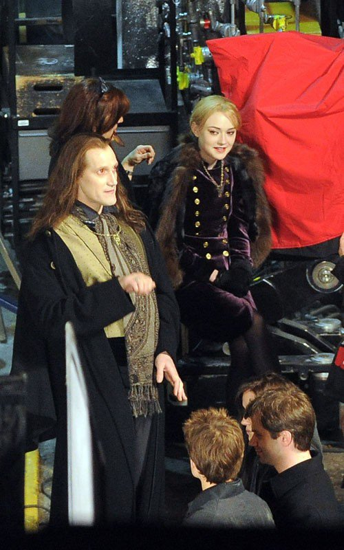 Photos du Tournage de Breaking Dawn → Les Volturi