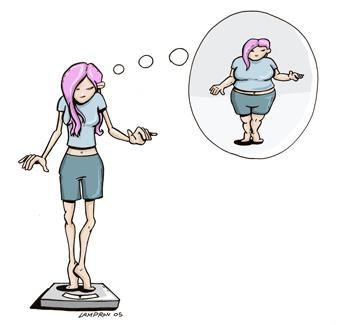Les filles grosses de l'intérieur.