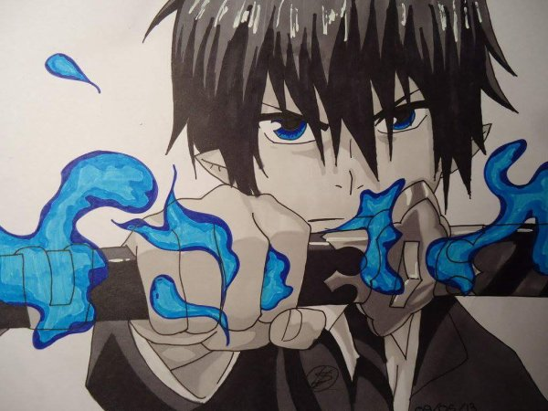 bleue exorcist