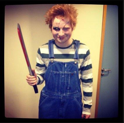 Ed Sheeran déguisé pour Halloween!