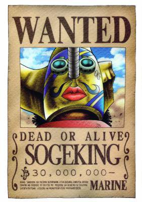 wanted usopp
