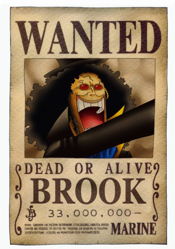wanted brook