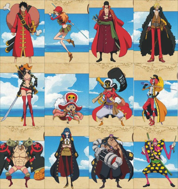 one piece film z photo