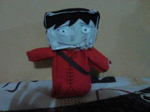 Luffy z en peluche
