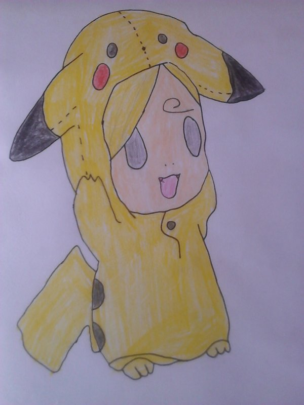 Sanji déguisé en Pikachu